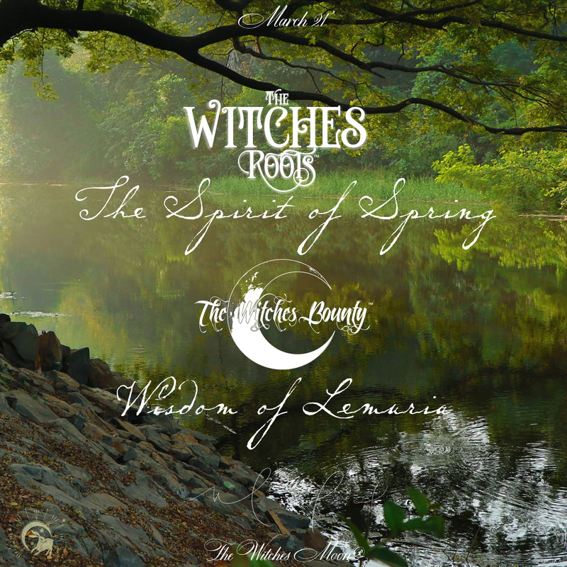 The Witches Roots™ & The Witches Bounty™ March 2021 Themes Revealed