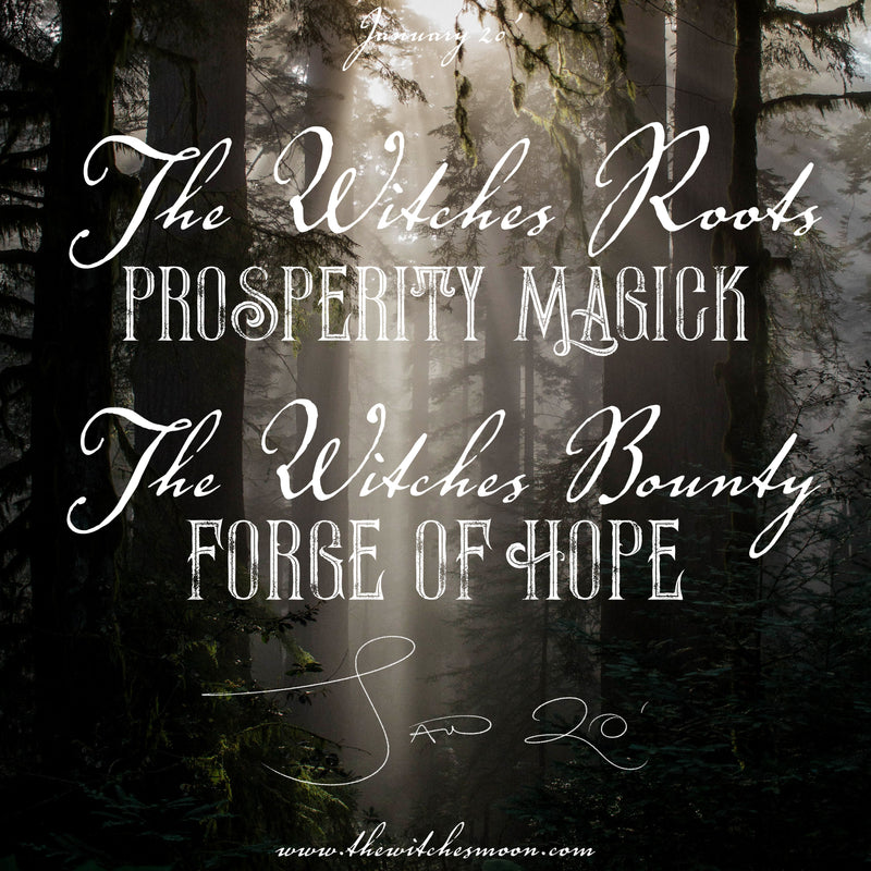 The Witches Roots™ & The Witches Bounty ™ January 2020 Themes Revealed!