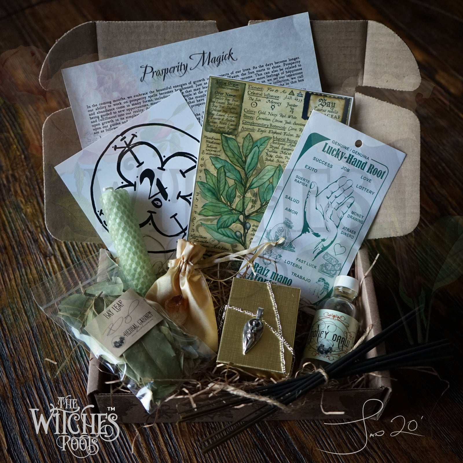 The Witches Roots™ - Prosperity Magick - January 2020