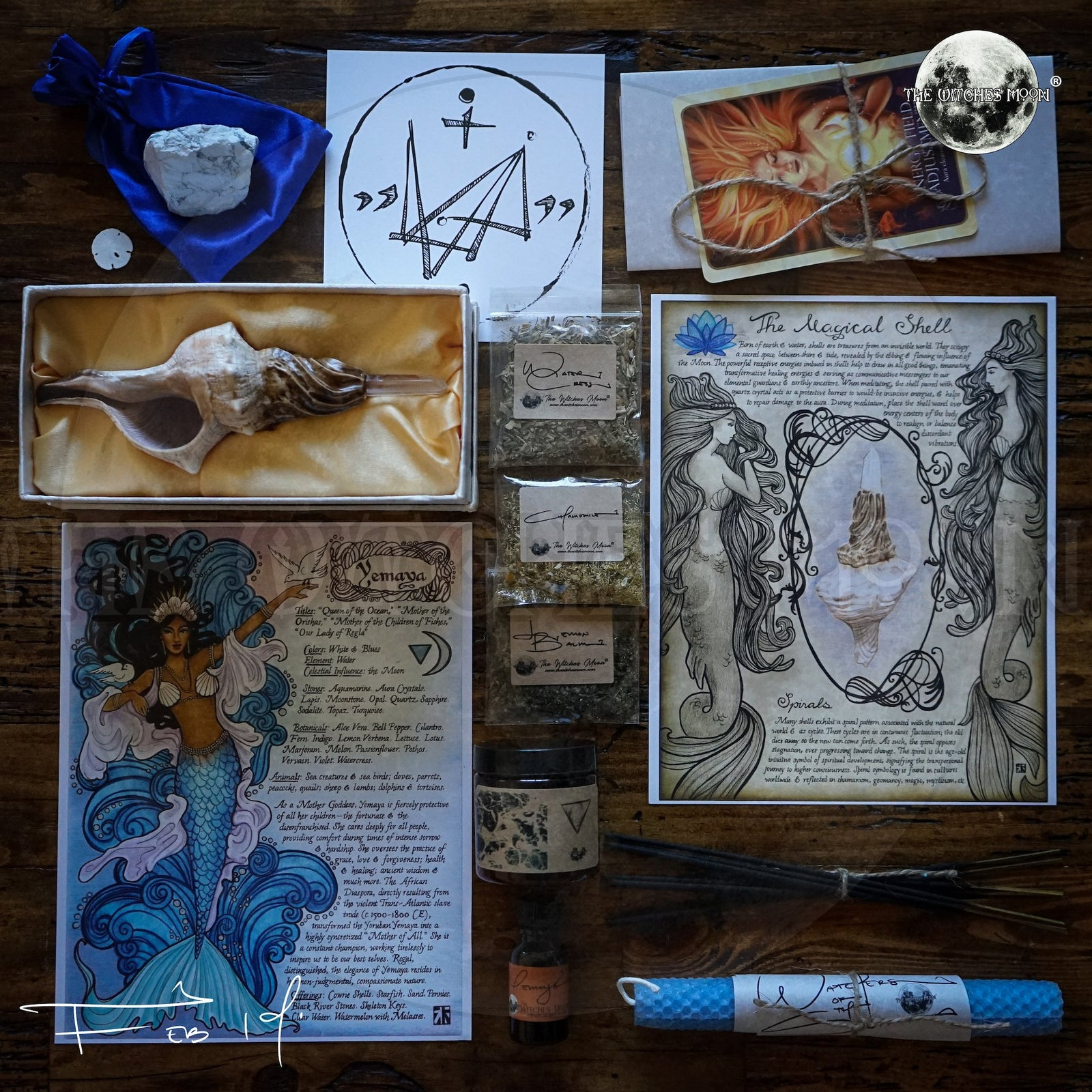 The Witches Moon® - The Sacred Sea - February 2019