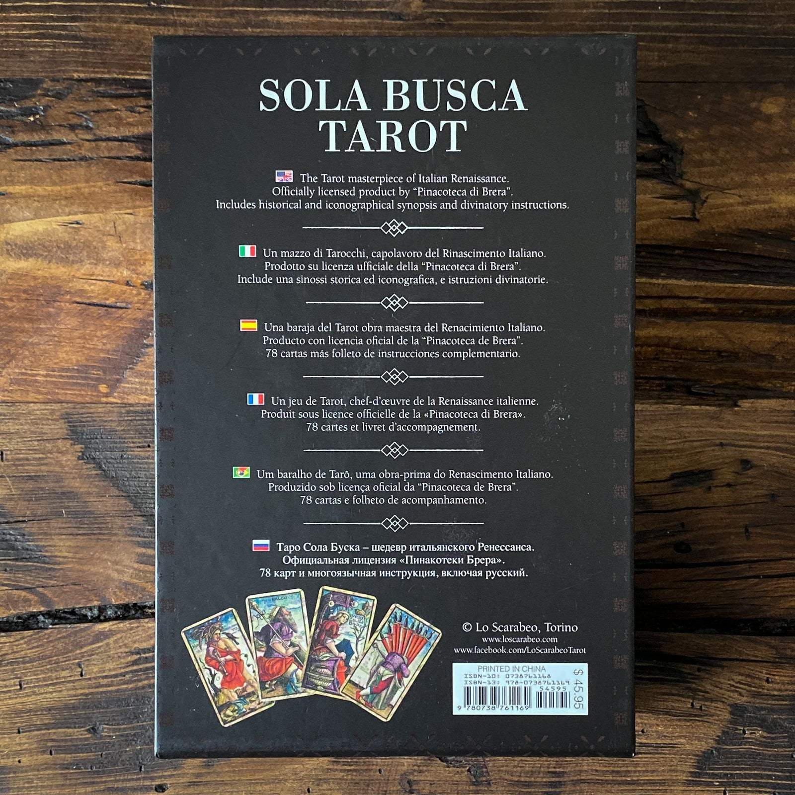 Sola Busca Tarot - The Tarot Masterpiece of Italian Renaissance