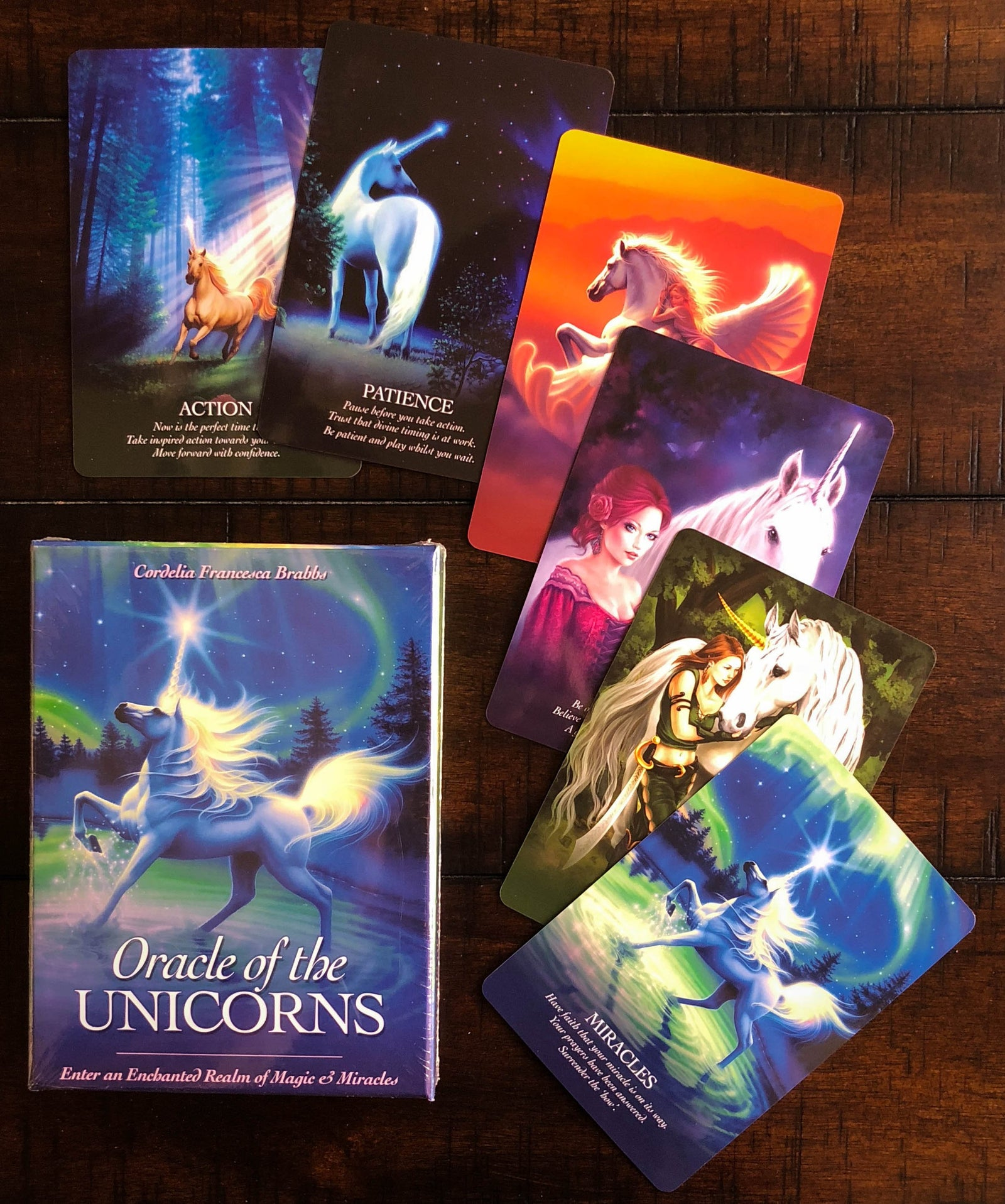 Oracle of the Unicorns Oracle Cards
