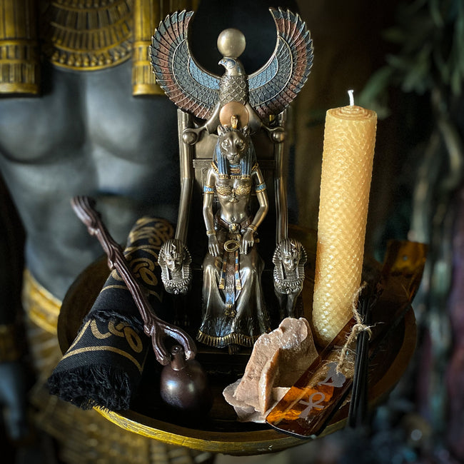 The Egyptian Goddess Sekhmet Altar - One Time Purchase
