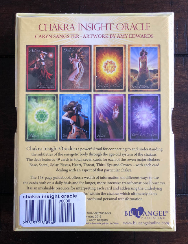 Chakra Insight Oracle Cards