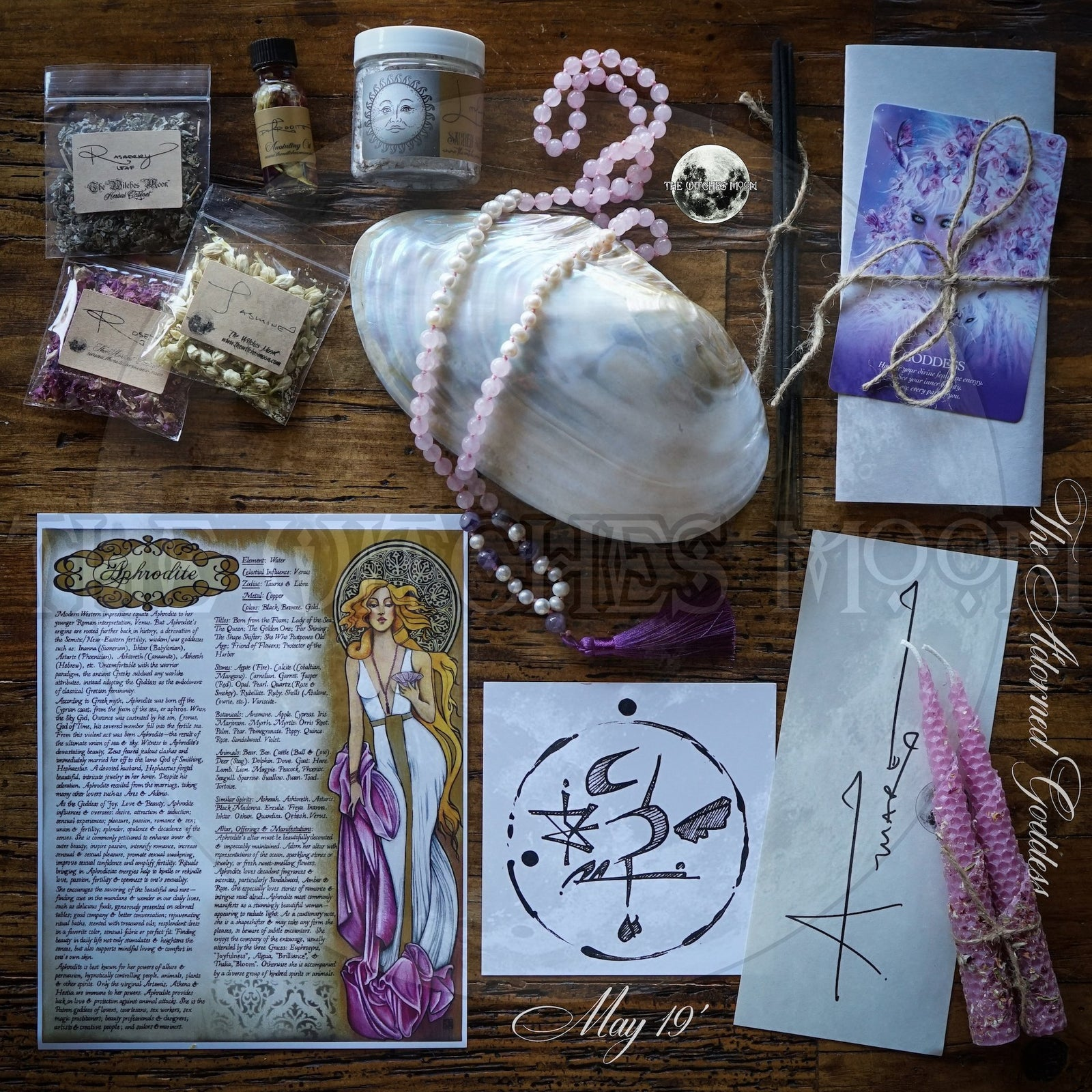 The Witches Moon® - The Adorned Goddess - May 2019