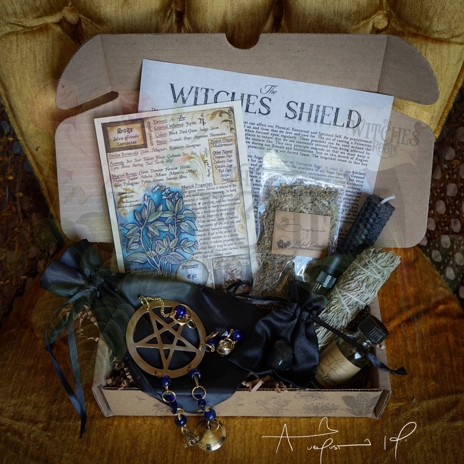 The Witches Roots™ - The Witches Shield - August 2019
