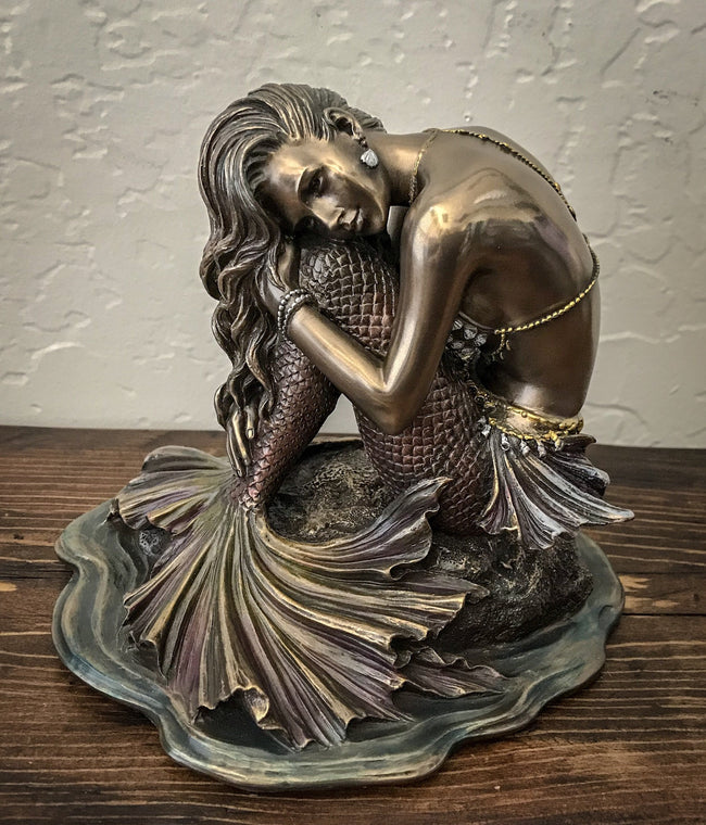 Mermaid Sitting on a Rock