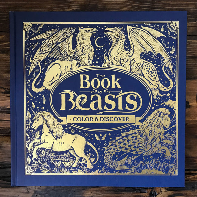 The Book of Beasts (Color & Discover)