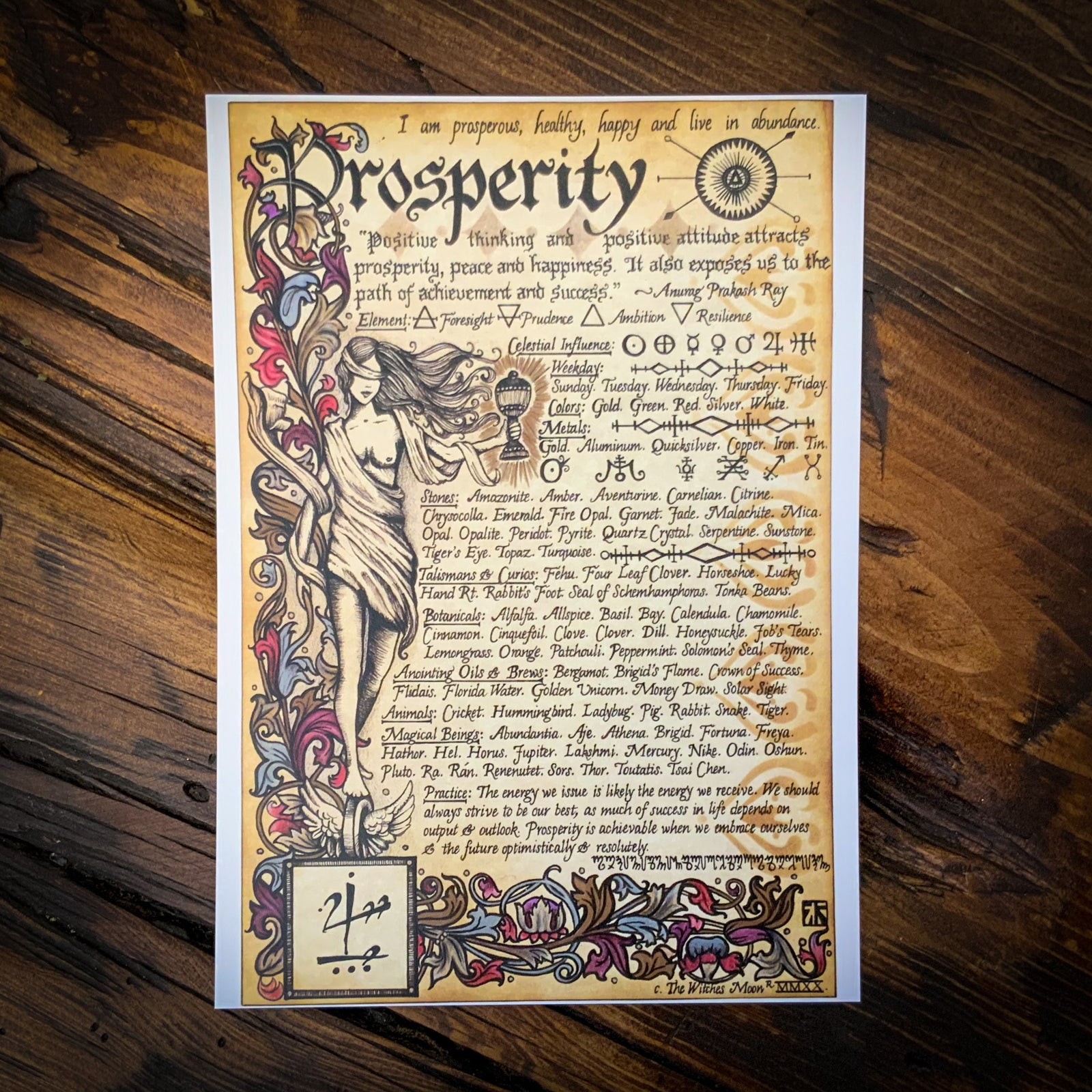 Prosperity Artwork