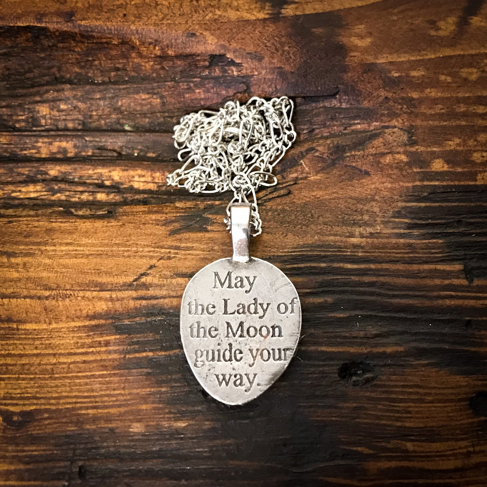 Lady of the Moon Pendant w/chain
