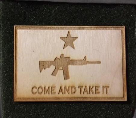 Come And Take It AR-15 - WoodPatch