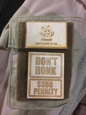 Don't Honk - Patch Set - WoodPatch