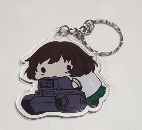 Tank Sucker Acrylic Keychain - WoodPatch