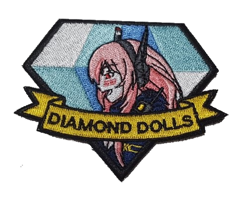 Diamond Dolls M4 SOPMOD II Embroidery Patch - WoodPatch