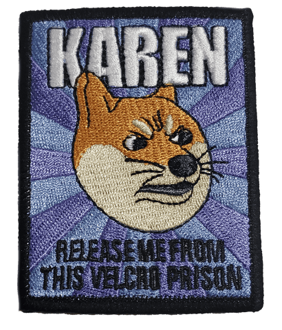 Meme of The Year Embroidery Patch - WoodPatch