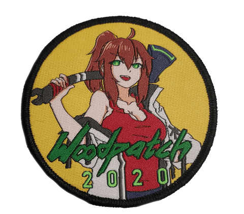 WoodChan 2020 Cyberpunk Woven Patch - WoodPatch