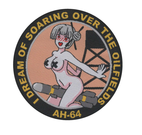 AH-64 Girl's Dream Woven Patch
