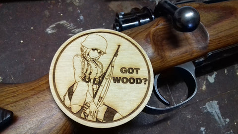 Got Wood? Collab WoodPatch