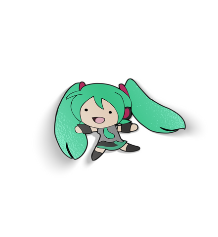 Smol Vocaloid Stickers - WoodPatch