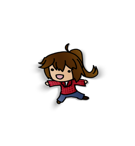 Smol WoodChan Sticker - WoodPatch