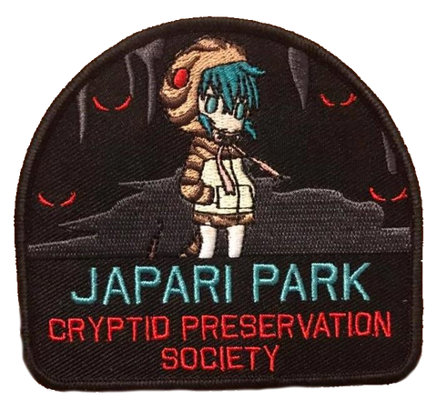 Japari Park Cryptid Preservation Society Embroidery Patch - WoodPatch