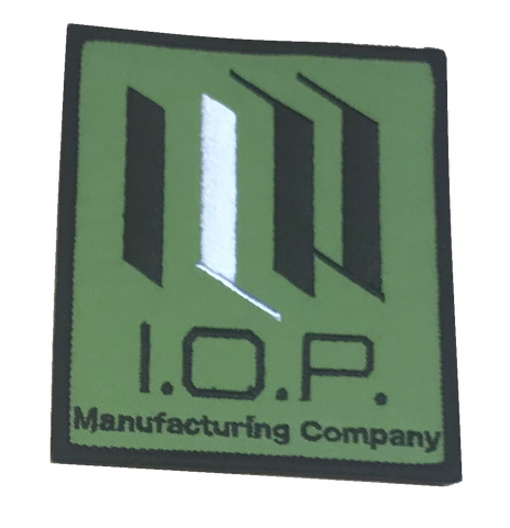 I.O.P Mfg Embroidery Patch - WoodPatch