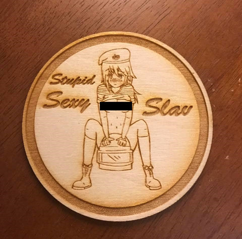 Stupid Sexy Slav WoodPatch - WoodPatch