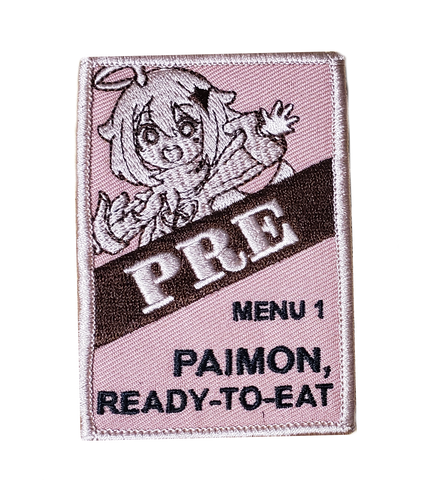 Paimon Ready To Eat Embroidery Patch