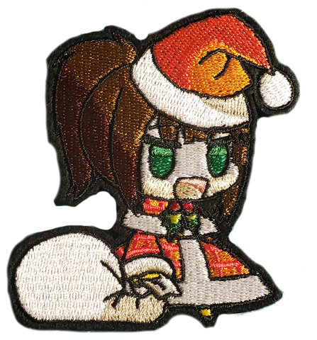 Wood-Chan Padoru Embroidery Patch
