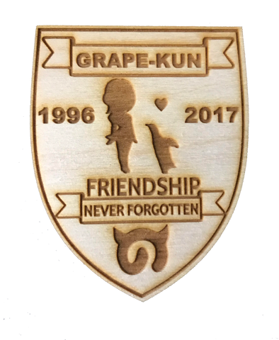 Grape-Kun Memorial Charity WoodPatch - WoodPatch