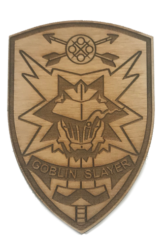 Goblin Slayer WoodPatch - WoodPatch