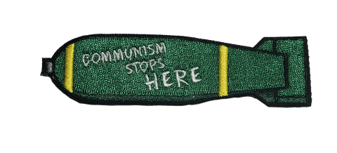 Communism Stops Here Embroidery Patch - WoodPatch
