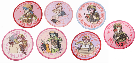 Yandere Operators Woven Patches