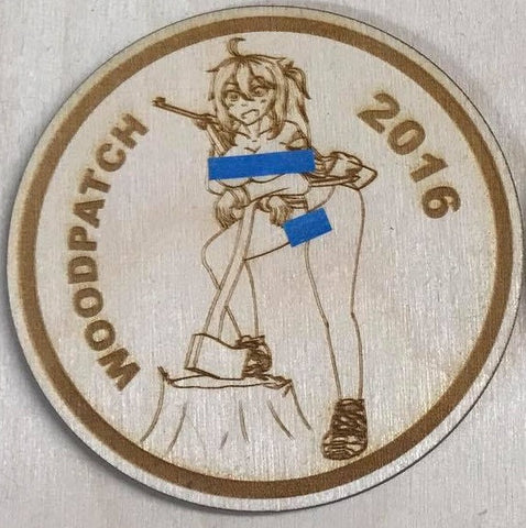 WoodChan Mascot 2016 Lewd - WoodPatch