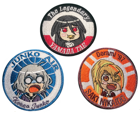 Zombieland Saga Embroidery Patch & Sticker Set 1 - WoodPatch
