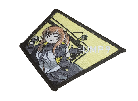 404 Team Series UMP9 Woven Patch - WoodPatch