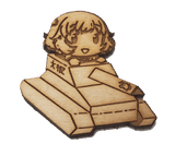 Cardboard Panzer WoodPatch - WoodPatch