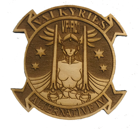 Muv-Luv Valkyries Wood Patch - WoodPatch