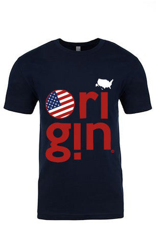 USA ORIGIN MEN'S TEE