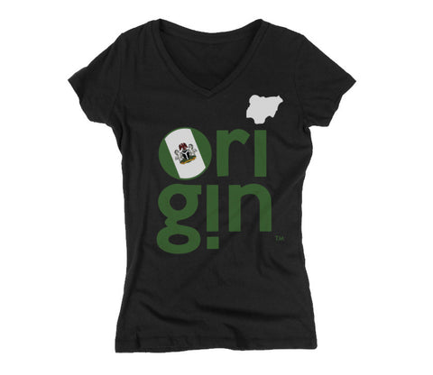 NIGERIA ORIGIN WOMEN'S TEE