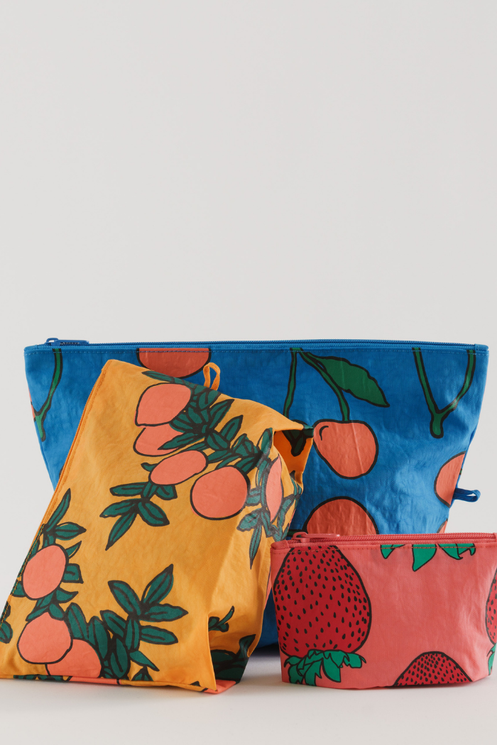 Go Pouch Set - Backyard Fruit