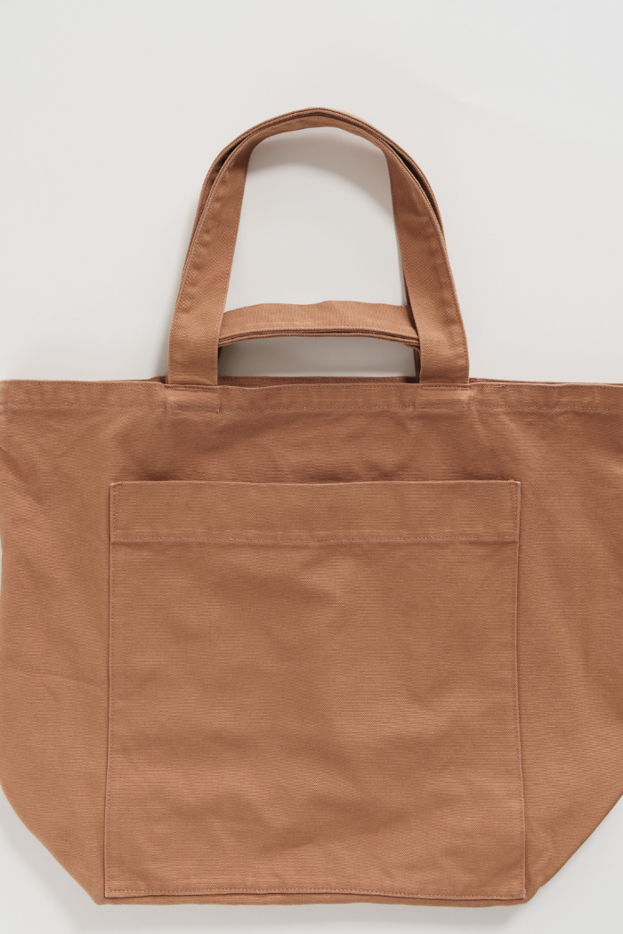 Giant Pocket Tote - Washed Adobe