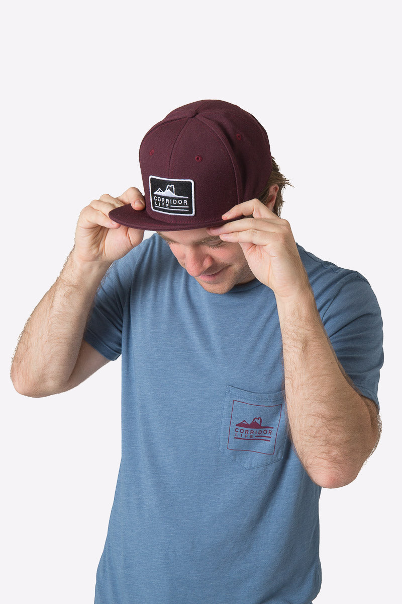 Echo Pocket Tee - Heather Water
