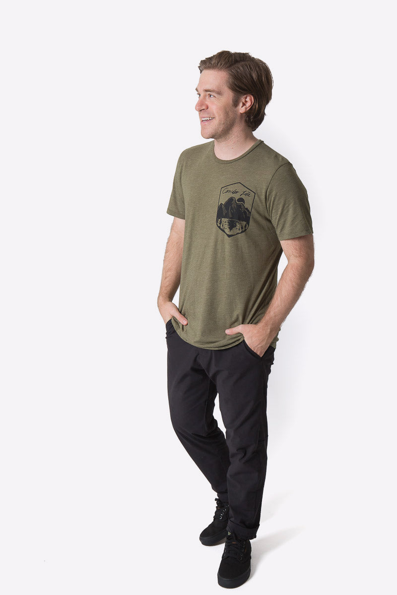 Anderson Tee - Heather Green