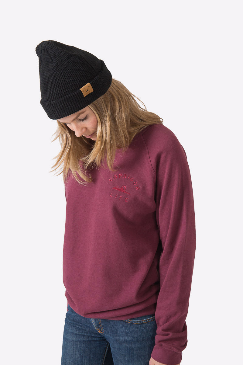 Sproatt Sweater - Maroon