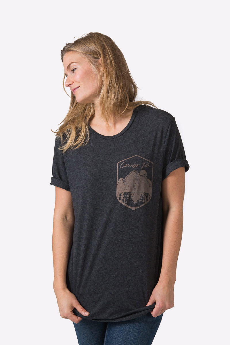 Anderson Tee - Heather Black