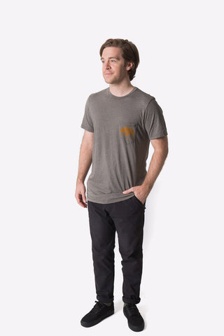 Ivey Tee - Heather Carbon