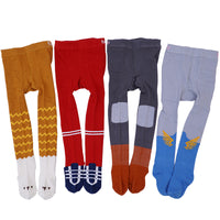New Fashion Autumn Winter Stretchable Baby Boy Tights Stockings Suits