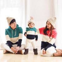 Family Style Matching Hoodie Sweaters.