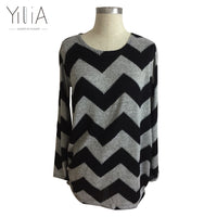 Thin Long Sleeve Women Pullover Blouse. One Size